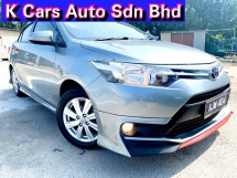 2015 TOYOTA VIOS 1.5J (AT) Need Like New Car Condition Never Accident Before Original Paint Worth Buy