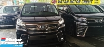 2016 TOYOTA VELLFIRE 2.5 ZG HI SPEC UNREG.INCLUDED SST.TRUE YEAR CAN PROVE.PILOT SEAT.PRE CRASH.ORI JBL SOUND THEATRE.ORI LEATHER SIT.3 POWER DRS N BOOT.FREE WARRANTY N MANY GIFTS