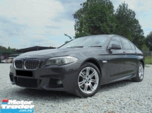 2012 BMW 5 SERIES 2.0 M Sport 2.0 F10 TwinPower Turbo 8Speed Steptronic PaddleShift NAVI LikeNEW