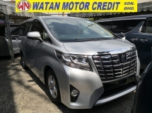 2015 TOYOTA ALPHARD 2.5 X EDITION INC SST 360 CAM DUAL POWER DOORS POWER BOOT 8 SEATERS JAPAN UNREG