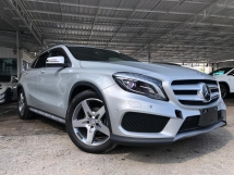 2015 MERCEDES-BENZ GLA 180 AMG POWER BOOT LEATHER MINI SUV JAPAN UNREG