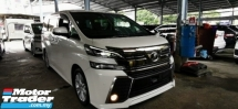 2015 TOYOTA VELLFIRE 2.4 ZA Z UNREG.INCLUDED SST.TRUE YEAR MADE.7 SEAT.3 POWER DRS N BOOT.360 SURROUND CAMERA.BODYKIT.LED LIGHT N ETC.FREE WARRANTY N MANY GIFTS