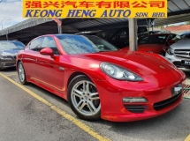 2011 PORSCHE PANAMERA V6 Japan Spec 2 digit number