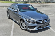 2016 MERCEDES-BENZ C-CLASS 2016 MERCEDES C200 2.0 AMG SPEC CAR SELLING PRICE ( RM 193000.00 NEGO )