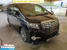 2017 TOYOTA ALPHARD 2.5 SC SPEC SUNROOF BUSINESS CLASS SEAT LOCAL AP UNREG