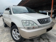 2001 TOYOTA HARRIER 240G L PACKAGE TIP TOP CONDITION