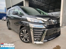 2018 TOYOTA VELLFIRE 2018 Toyota Vellfire 3.5 ZG Facelift JBL Home Theatre System Sun Roof DIM BSM Full Leather Unregister for sale