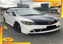 2008 HONDA CIVIC 2.0 R-R FULL KIT(A)PADDLE S/RIM FREE 1YEAR WARRANTY GOOD CONDITION LOW MLEAGE LIKE NEW ACCIDENT FREE AND 1 CAREFUL OWNER