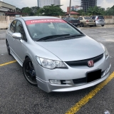 2009 HONDA CIVIC 2.0 MUGEN(A) ADJUST ABDOBER+SRPING FREE 1YEAR WARRANTY GOOD CONDITION LOW MLEAGE LIKE NEW ACCIDENT FREE AND 1 CAREFUL OWNER