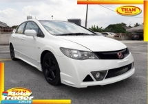2010 HONDA CIVIC 1.8  FD2 FACELIFT(A)FULL RR B/KIT FREE 1YEAR WARRANTY GOOD CONDITION LOW MLEAGE LIKE NEW ACCIDENT FREE AND 1 CAREFUL OWNER