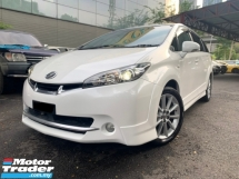 2009 TOYOTA WISH 2.0  Z SUNROOF (TRUE YEAR) PADDLE SHIFT PUSH START 7 SEATER TIP TOP CONDITION