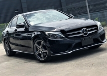 2015 MERCEDES-BENZ C-CLASS C180 AMG LINE 1.6 (A) PANORAMIC ROOF + TURBOCHARGED + UNREGISTERED JAPAN SPECS PREMIUM SELECTION CAR (CBU)