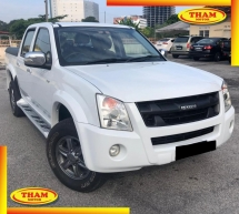 2011 ISUZU D-MAX 3.0L 4X4 DOUBLE CAB (A)Ddi iTEQ 4x4 2WD FREE 1YEAR WARRANTY GOOD CONDITION LOW MLEAGE LIKE NEW ACCIDENT FREE AND 1 CAREFUL OWNER