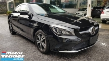 2017 MERCEDES-BENZ CLA 180 1.6 (CLEARANCE STOCK)