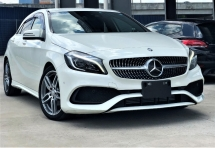 2016 MERCEDES-BENZ A-CLASS A180 1.6L (A) AMG LINE NEW FACE LIFT + TURBOCHARGED + JAPAN PREMIUM SELECTION SPEC + UNREGISTERED