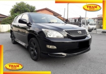 2006 TOYOTA HARRIER 240G L PACKAGE ALCANTARA PRIME VERSION FREE 1YEAR WARRANTY GOOD CONDITION LOW MLEAGE LIKE NEW ACCIDENT FREE AND 1 CAREFUL OWNER