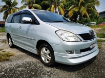 2006 TOYOTA INNOVA 2.0 G SPEC (AUTO)  PLAYER ANDROID SYSTEM / GOOGLE MAP / REVERSE CAMERA / TIPTOP CONDITION / BLACKLIST CAN LOAN