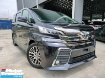 2016 TOYOTA VELLFIRE 2016 Toyota Vellfire 2.5 ZG Pre Crash Pilot Seat Power Boot 2 Power Door Unregister for sale