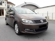 2013 VOLKSWAGEN SHARAN 2.0 TSI (A) VIP MPV FREE 1YEAR WARRANTY GOOD CONDITION LOW MLEAGE LIKE NEW ACCIDENT FREE AND 1 CAREFUL OWNER
