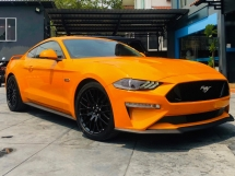 2018 FORD MUSTANG GT FASTBACK NFL 5.0 V8 WITH RECARO SEATS