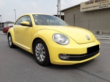 2014 VOLKSWAGEN BEETLE  1.2 TSI SPORT(A)SERVICE RCD FREE 1YEAR WARRANTY GOOD CONDITION LOW MLEAGE LIKE NEW ACCIDENT FREE AND 1 CAREFUL OWNER