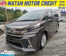2016 TOYOTA VELLFIRE 2.5 ZA Power Boot 360 Camera Unregister 1 YEAR WARRANTY