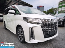 2018 TOYOTA ALPHARD 2.5 SC D.I.M SUNROOF NAPPA LEATHER