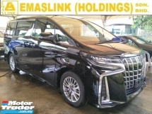 2018 TOYOTA ALPHARD 2.5 SA 360 SURROUND CAMERA POWER BOOT AUTO CRUISE 7 SEATER PRE CRASH STOP SYSTEM FREE WARRANTY