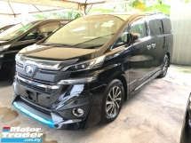2015 TOYOTA VELLFIRE 3.5 VL Modelista Edition Fully Loaded Pre-Crash Radar System 360 Surround Camera JBL Home Theater Moon Roof Sun Roof Pilot Memory Full Leather Seat Intelligent Full-LED Smart Entry Drive Hold Bluetooth 9 Air Bags Unreg