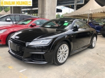 2016 AUDI TT 2.0 S-Line Quattro (Japan Spec) Turbocharged S-Tronic 230hp Running Matrix-LED 12.3