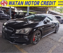 2014 MERCEDES-BENZ CLA CLA45 PANORAMIC ROOF DUAL MEMORY SEAT 2014 JAPAN UNREG FREE GMR WARRANTY