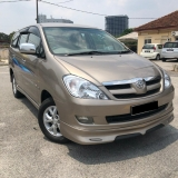 2009 TOYOTA INNOVA 2.0G ( FACELIFT (A) FREE 1YEAR WARRANTY GOOD CONDITION LOW MLEAGE LIKE NEW ACCIDENT FREE AND 1 CAREFUL OWNER