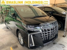 2018 TOYOTA ALPHARD 2.5SA New Facelift Unregister 2.xx interest rate New arrival Android Player power boot 7seater Surround Camera
