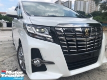 2017 TOYOTA ALPHARD SA TYPE BLACK SUNROOF PRECRASH
