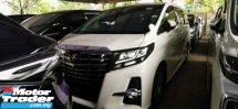 2017 TOYOTA ALPHARD 2.5 SC FULLSPEC UNREG.INCLUDED SST.TRUE YEAR CAN PROVE.SUNROOF.PILOT SEAT.LEATHER.PRE CRASH.3 POWER DRS N BOOT.360 SURROUND CAMERA.FRONT N BACK DVD MONITOR.LED LIGHT N ETC.FREE WARRANTY N MANY GIFTS