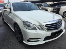2012 MERCEDES-BENZ E-CLASS E250 AMG 1.8 (A) Registered 2013