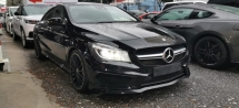 2015 MERCEDES-BENZ CLA 45 AMG 2.0 4MATIC / READY STOCK NO NEED WAIT / 5 YEARS WARRANTY UNLIMITED KM