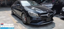 2017 MERCEDES-BENZ CLA 45 AMG 2.0 4MATIC / NEW FACELIFT / READY STOCK NO NEED WAIT / TIPTOP CONDITION ORIGINAL MILEAGE