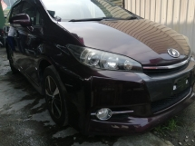 2014 TOYOTA WISH 1.8S/FREE 5 YEARS WARRANTY/PUSH START/LIMITED COLOR