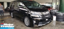2014 TOYOTA VELLFIRE GOLDEN EYES2 / ALPHINE TV AND MONITOR / READY STOCK NO NEED WAIT
