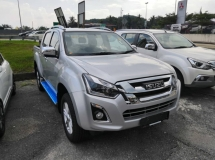 2019 ISUZU D-MAX 2.5L 4X4 DOUBLE CAB AT Standard : November 2019 Stock Clearance - Limited Unit