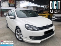 2013 VOLKSWAGEN GOLF 1.4 TSI FACELIFT SE (A) FULL SERVICE RECORD SUNROOF LEATHER SEAT ACCIDENT FREE