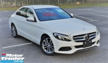 2016 MERCEDES-BENZ C-CLASS 2016 MERCEDES C180 1.6 AVANTGARDE SPEC ORIGINAL FROM JAPAN UNREG CAR SELLING PRICE RM 166,000.00