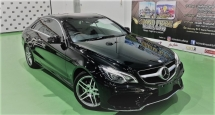 2015 MERCEDES-BENZ E-CLASS 2015 MERCEDES BENZ E250 FACELIFT 2.0 AMG COUPE JAPAN SPEC CAR SELLING PRICE ( RM 199,000.00 NEGO )
