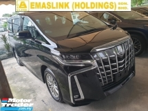 2018 TOYOTA ALPHARD 2.5 SA Facelift Surround Camera Power Boot Local AP Unreg
