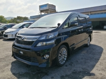 2014 TOYOTA VELLFIRE 2.4 Z GOLDEN EYE II UNREGISTERED