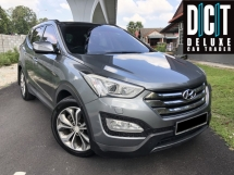 2016 HYUNDAI SANTA FE 2.4GLS EXECUTIVE PLUS LED REAR LAMP DUAL ZONE AIRCOND HID XENON HEADLAMP BROWN NAPPA LEATHER