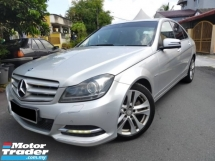 2013 MERCEDES-BENZ C-CLASS 1.8L C200 CGI BLUE EFFICIENCYTURBO PREMIUM HIGH SPEC ONE OWNER LIKE NEW CAR CONDITION