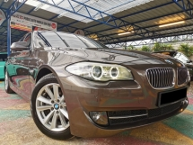 2013 BMW 5 SERIES 520d F10 2.0 (A) TWIN POWER TURBO WARRANTY