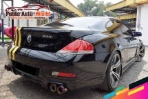2007 BMW 6 SERIES 630i 3.0 (A) RACE CHIP SROOF EXHAUST F/LOADED